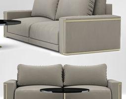 Sofa Montgomery Sofa design Fendi Casa 3D model
