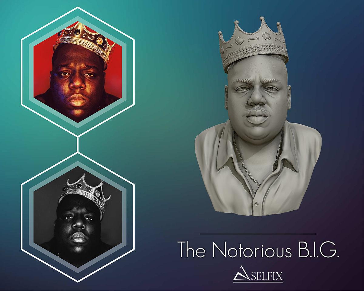The Notorious BIG 3D model