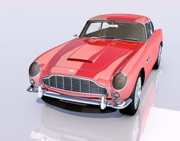 3D model high detailed Aston Martin DB5 Vantage 1964 1