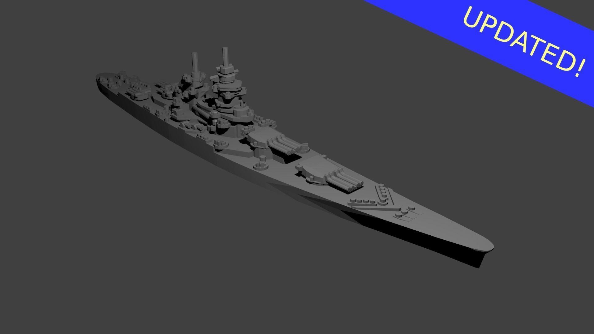 French Richelieu Class Battleship