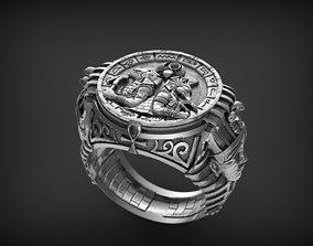 3D print model Ring Gods of Egypte