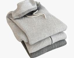 3D model Folded Sweater