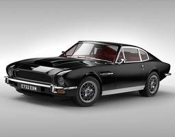 Aston Martin V8 1976 3D Model