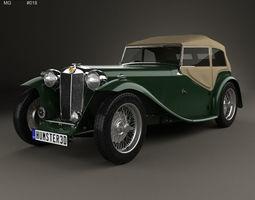 3D MG TC Midget 1945
