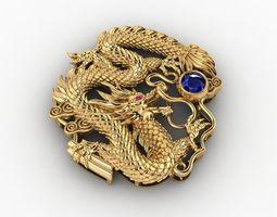 pendant Dragon Pendant 3D print model