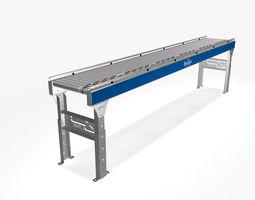 3D model Conveyor - Zipline RLVDC