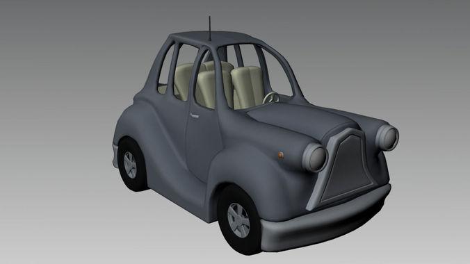 Cartoon Car3D model