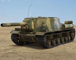 3D model ISU-152