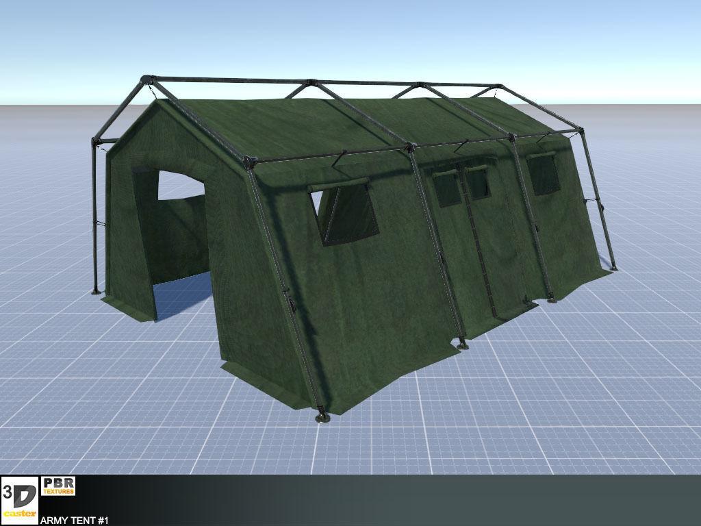 Army Tent 1   3D model