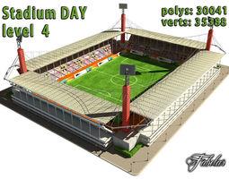 Stadium Level 4 Day 3D Model