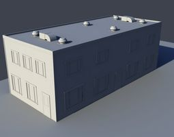 business building bundle 3 3D model