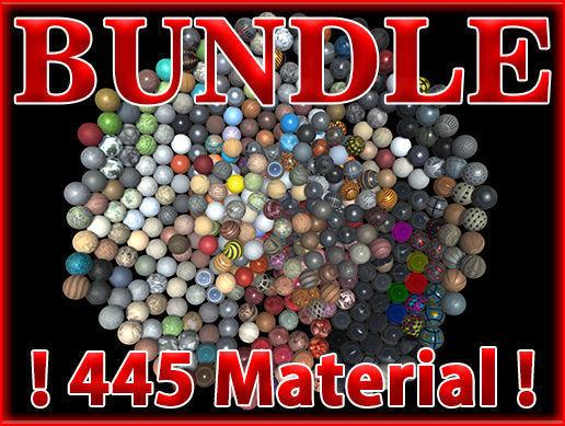 pbr material bundle vol1 - 445 material  3d model tga unitypackage prefab 1