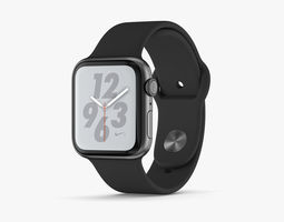 Apple Watch Series 4 Gray 3D model