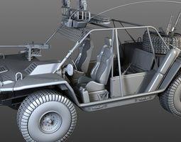 3D desert rover