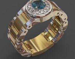 Men ring 3 3D Model