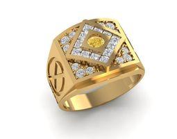 797 Diamond Men Ring X Men 3D printable model