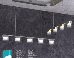 Lamp Eglo Clap1 3D Model