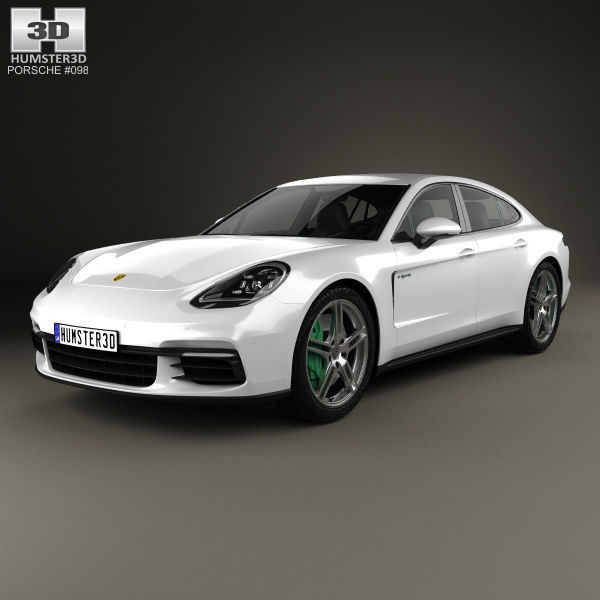 Porsche Panamera 4 E Hybrid 2016 3d Model
