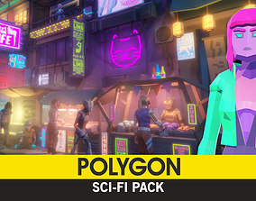 3D model POLYGON - Sci-Fi Pack