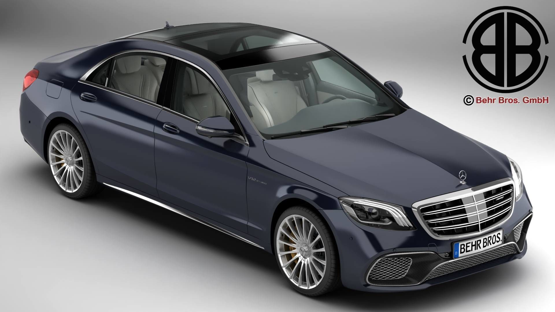 Mercedes S Class AMG S65 2018