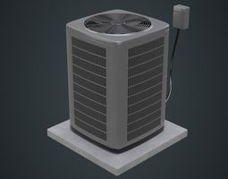 3D model Air Conditioner 3A