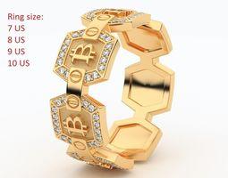Bitcoin RING MRD-01 3D print model