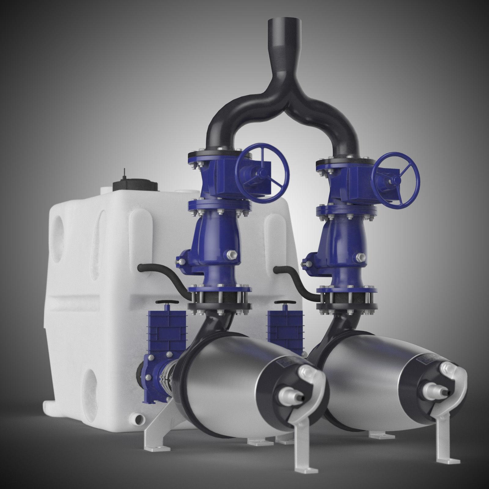 Grundfos multilift MDV pump with tank