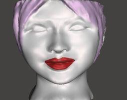 3D print model Head Pot