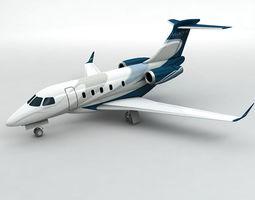 3D asset Embraer Legacy 450 Aircraft