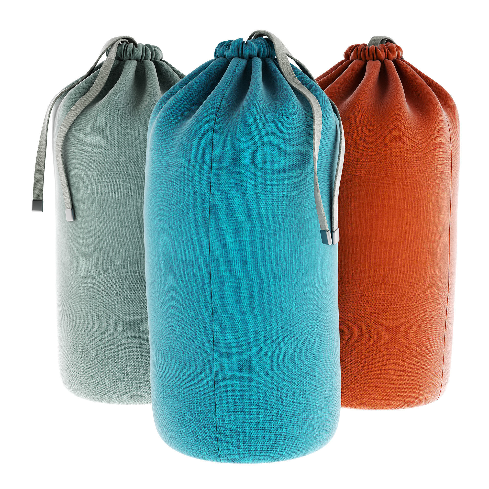 Textile Tie Bag