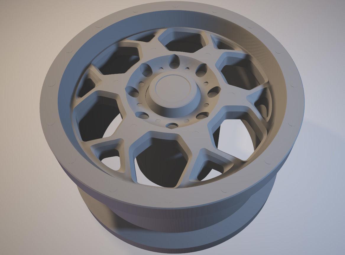 BMF SOTA printable rim
