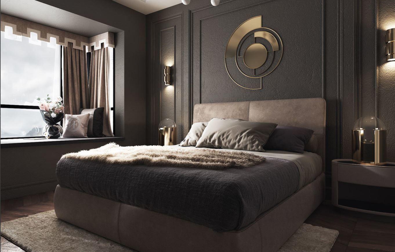 chair modern luxury bedroom 3D | CGTrader on New Model Bedroom  id=59399