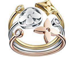 LV monogr ring 3D printable model