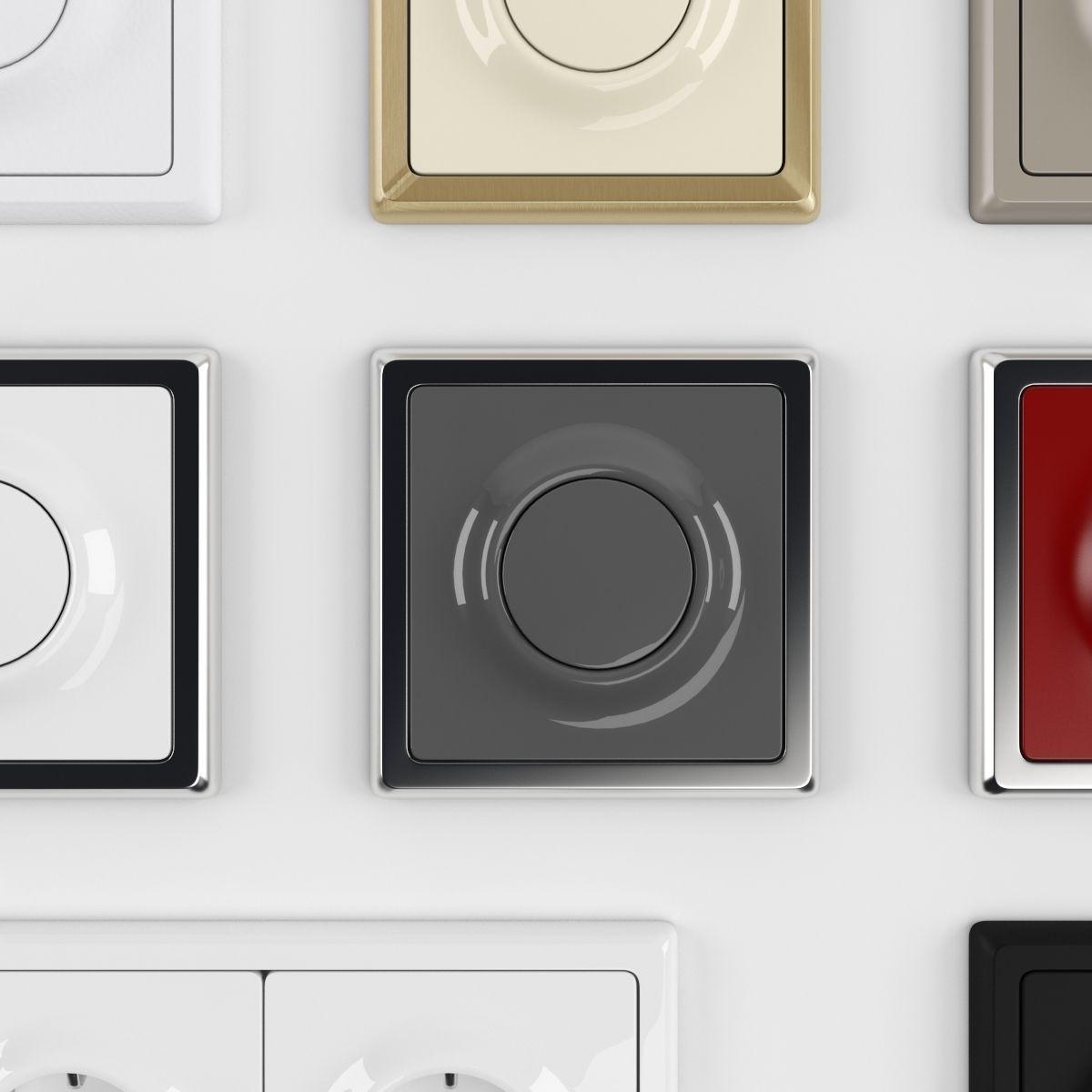 busch jaeger impuls 3d model max obj fbx. Black Bedroom Furniture Sets. Home Design Ideas