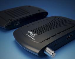 3D model demodulateur geant GN-CX200 MiniHD