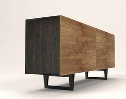 3D asset Stocker sideboard
