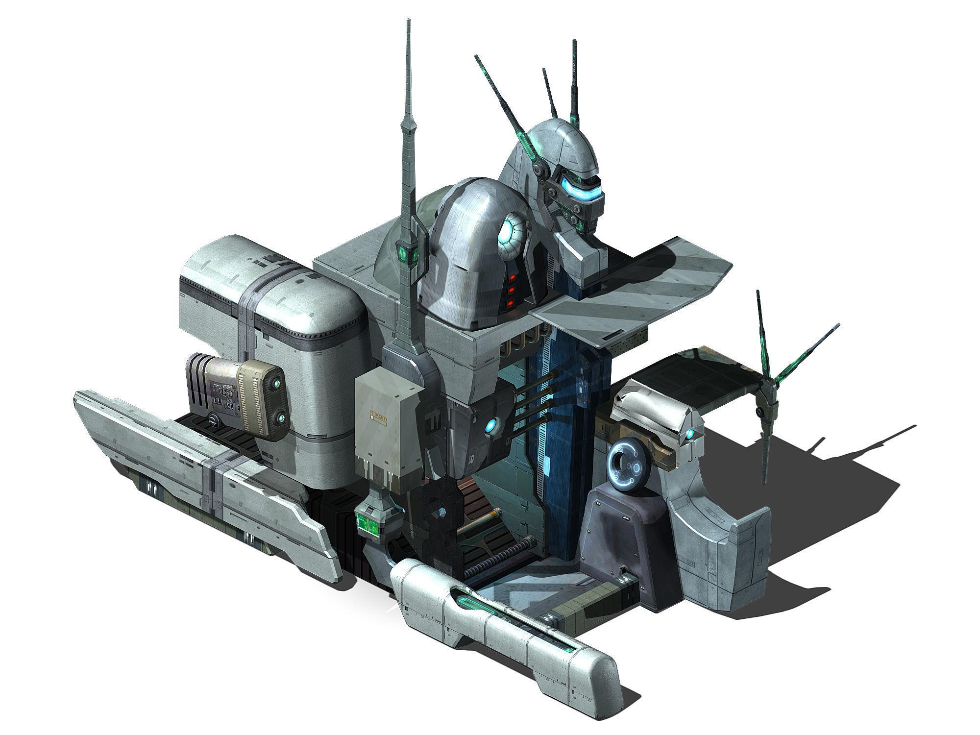 Different dimension - building - entrance 01