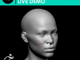 Detailing Human Face in ZBrush | LIVE DEMO