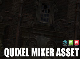 Quixel Mixer. Creation of PBR material with displacement in 3D-Coat.