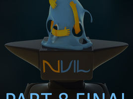 NVIL. Symmetry Tool and how to use it in the retopology creation.