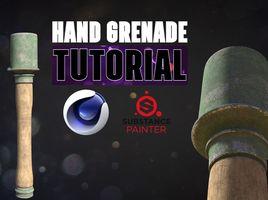 [FRENCH] Tutoriel Grenade C4D/SP2 - Modélisation & Texturation & Rendu