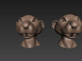 Создание персонажа в 3ds Max и Mudbox.2 часть