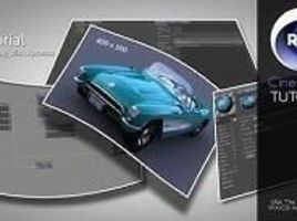 Cinema 4D texturing and resizing by xpresso