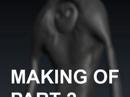 3D-Coat. Making of creature and render it in Corona Renderer. Part 2.