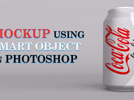 Product Label Mockup using Smart Object In Photoshop
