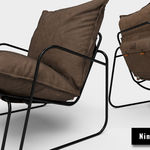 Modeling, Unwrap & Texturing Tuttu Armchair - Part4 [Texturing]