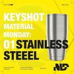 Keyshot Material Tutorial #1: Stainless Steel