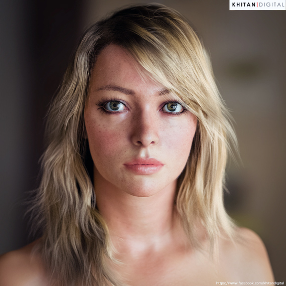 Portraits Of The 21st Century: The Most Photorealistic 3D Renderings Of Human Beings 27