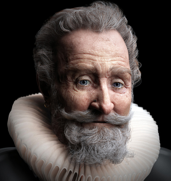 Portraits Of The 21st Century: The Most Photorealistic 3D Renderings Of Human Beings 26