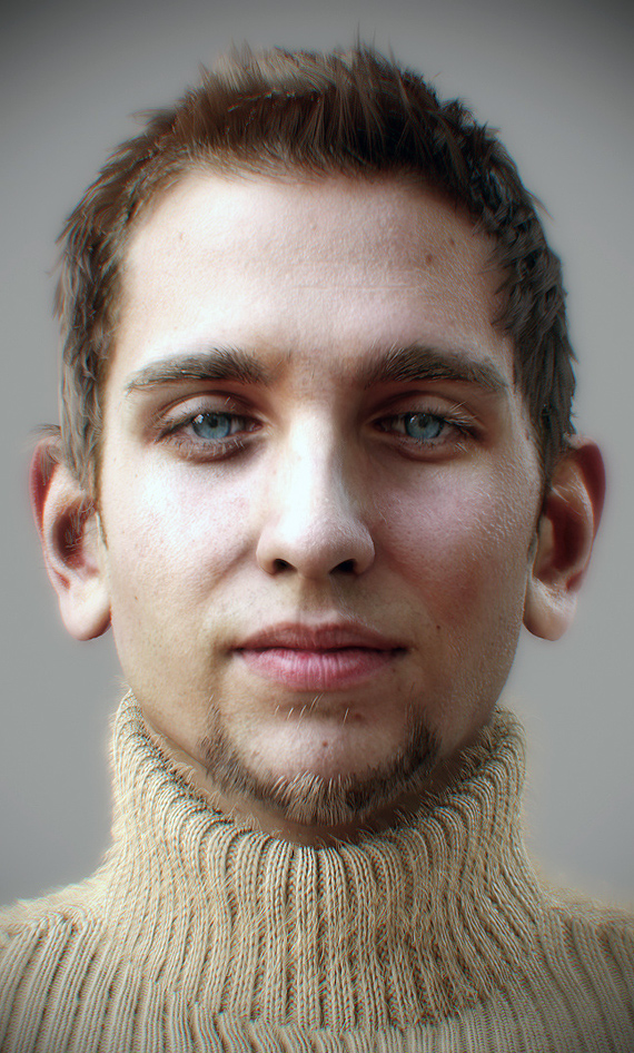 Portraits Of The 21st Century: The Most Photorealistic 3D Renderings Of Human Beings 5